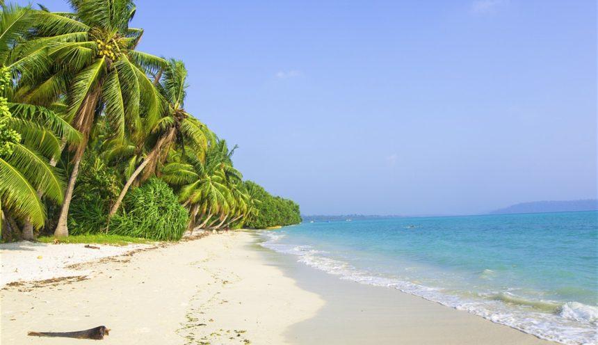 Havelock Island in Andaman Nicobar